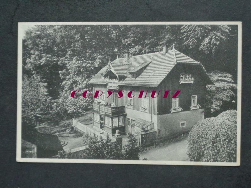 HARTHA Hintergersdorf Tharandt Dresden - Haus FRIEDRICHSRUH - 1930