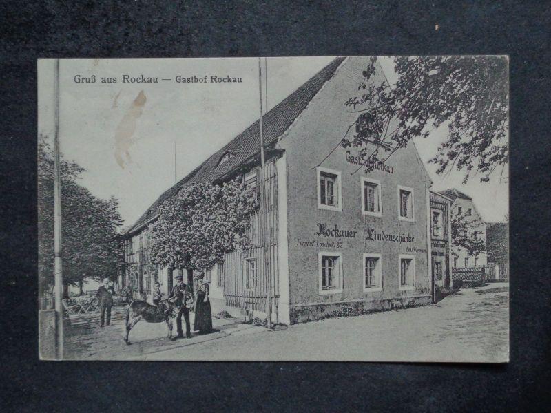ROCKAU Schönfeld Weißig Dresden - Gasthof LINDENSCHÄNKE Personen ...