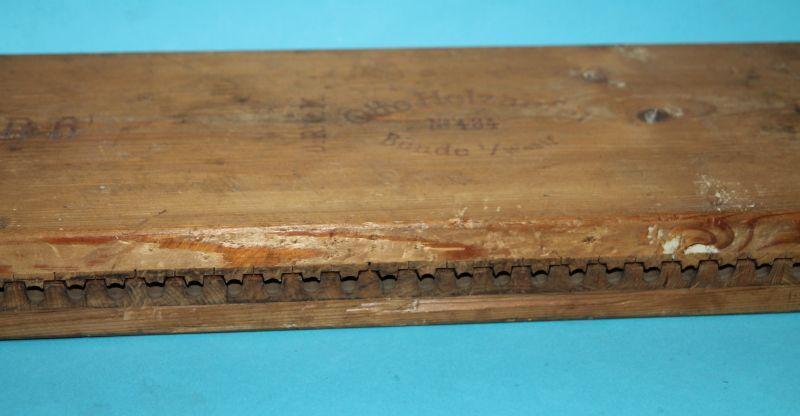 Alte Zigarrenpresse Holz. Otto Holzapfel NO. 434 Bünde i. / Westfalen ( CD 6 ) 3