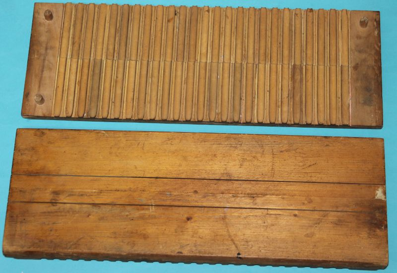 Alte Zigarrenpresse Holz. Otto Holzapfel NO. 434 Bünde i. / Westfalen ( CD 6 ) 4
