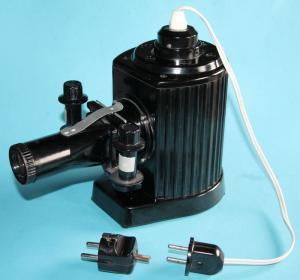 Pouva Magica , DDR Original Projektor, Bildwerfer aus Bakelit + Zusatzstecker !