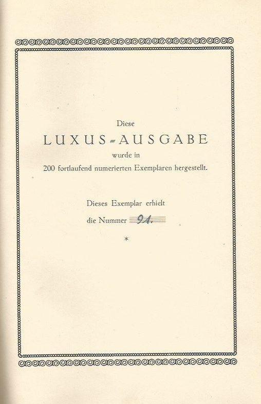 Moszkowski, Alexander (Hrsg.). Die Ewigen Worte.
