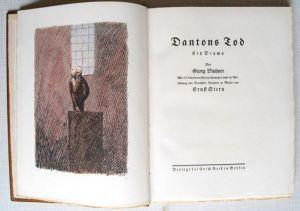 Büchner, Georg und Ernst (Illustrator) Stern. Dantons Tod.