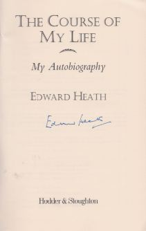 Heath, Edward. The Course of my Life.