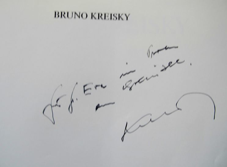 Kreisky, Bruno. Bruno Kreisky.