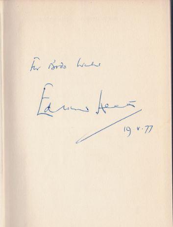 Roth, Andrew. Edward Heath.