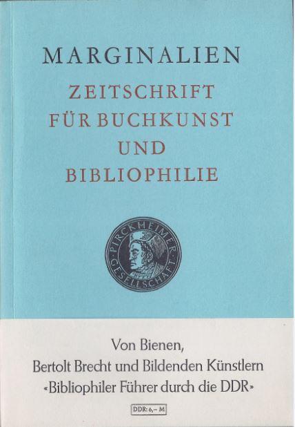 Lang, Lothar (Hrsg.). Marginalien.