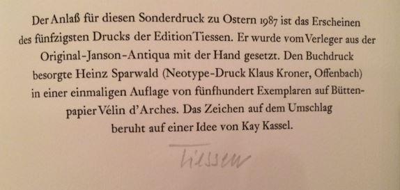 Tiessen, Wolfgang. Die Buchillustration in Deutschland, Österreich und der Schweiz seit 1945.