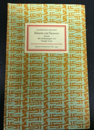 Daudet, Alphonse. Tartarin von Tarascon.