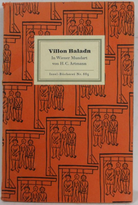 Artmann, Hans C. Villon Baladn. 1