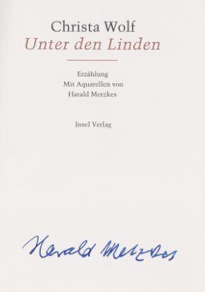 Wolf, Christa und Harald (Aquarelle) Metzkes. Unter den Linden.