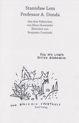 Lem, Stanislaw und Benjamin (Illustrator) Courtault. Professor A. Donda