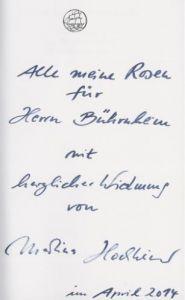Hochheimer, Martina (Fotografien). Oh, wer um alle Rosen wüßte.