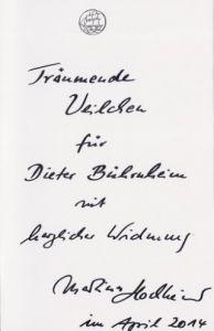 Hochheimer, Martina (Fotografien). Veilchen träumen schon - Die Blumen des Frühlings.