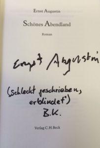 Augustin, Ernst. Romane und Erzählungen