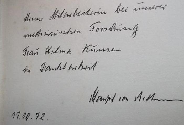 Ardenne, Manfred von und Manfred von Ardenne. Ein glückliches Leben für Technik und Forschung.