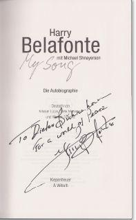 Belafonte, Harry und Michael Shnayerson. My Song.