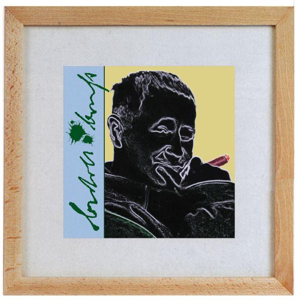 Bunke, Gerhard. Porträt von Bertolt Brecht.