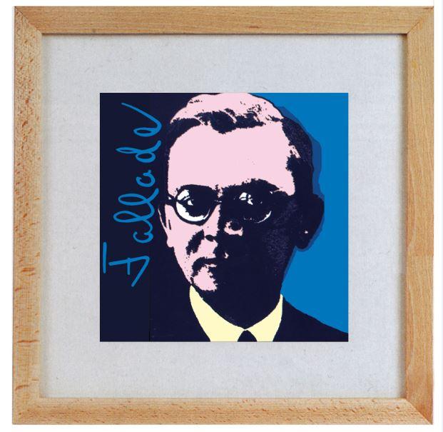 Bunke, Gerhard. Porträt von Hans Fallada.