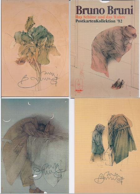 Bruni, Bruno. Postkarten-Kollektion `92.