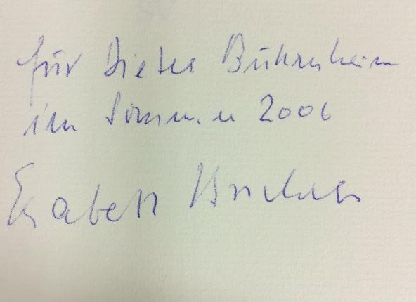 Borchers, Elisabeth. Eine Geschichte auf Erden.