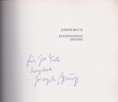 Beuys, Joseph. Zeichnungen - Dessins.