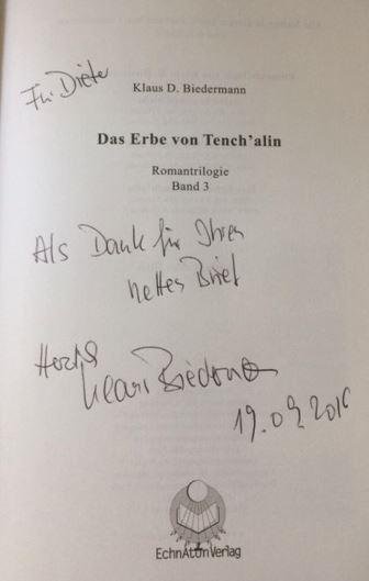 Biedermann, Klaus D. Das Erbe von Tench`alin
