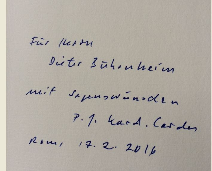 Cordes, Paul Josef und Manfred Lütz. Benedikts Vermächtnis und Franziskus` Auftrag.