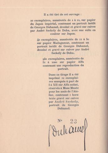 Duhamel, Georges. Écrivains et Poètes D`Aujourd`hui.