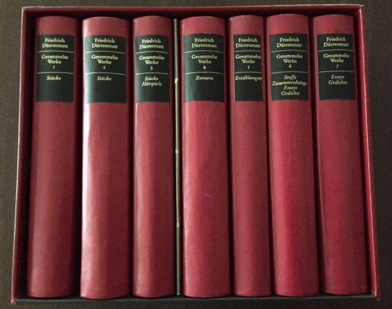 Dürrenmatt, Friedrich und Franz Josef (Hrsg.) Görtz. Gesammelte Werke in sieben Bänden.