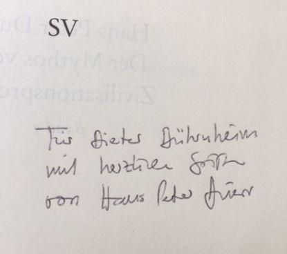 Duerr, Hans Peter. Der Mythos vom Zivilisationsprozess.