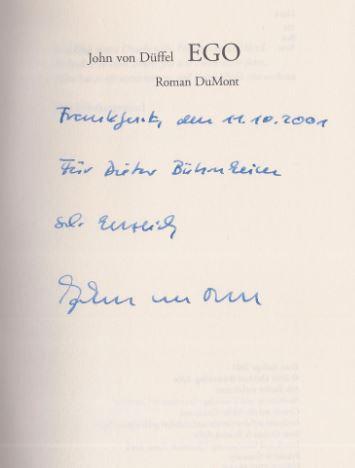Düffel, John von. Ego.