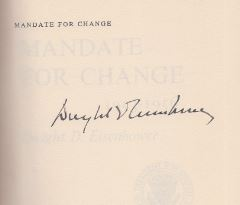 Eisenhower, Dwight D. Mandate for Change.