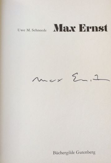 Schneede, Uwe M. und Max Ernst. Max Ernst.