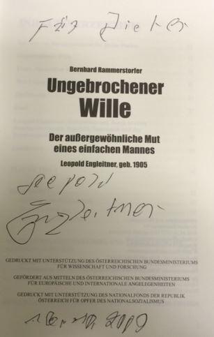 Rammerstorfer, Bernhard, Heinz Fischer und Walter Manoschek. Ungebrochener Wille.