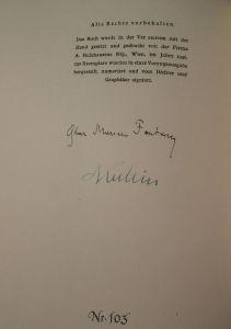 Fontana, Oskar Maurus und Alfred Kubin. Die Türme des Beg Begouja.