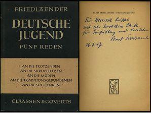 Friedlaender, Ernst. Deutsche Jugend.