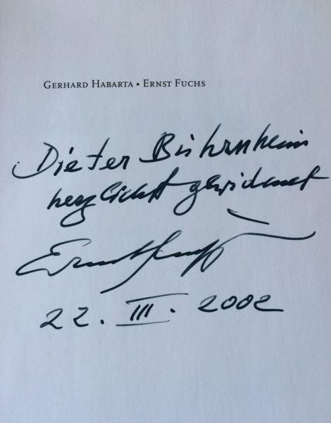 Habarta, Gerhard. Ernst Fuchs - Das Einhorn zwischen den Brüsten der Sphinx