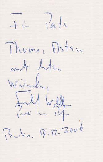 Preussen, Friedrich W von. Gott helfe unserem Vaterland