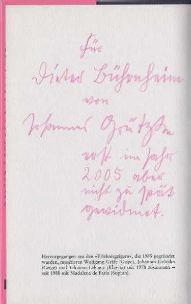 Lehnert, Tilmann und Johannes Grützke. Kolophon.