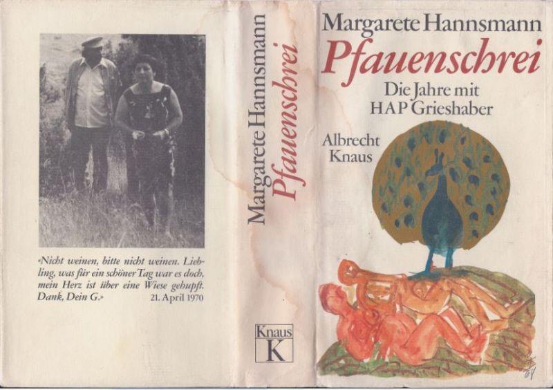 Hannsmann, Margarete. Pfauenschrei.