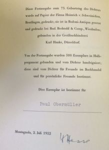 Hesse, Hermann. Zwei Idyllen.