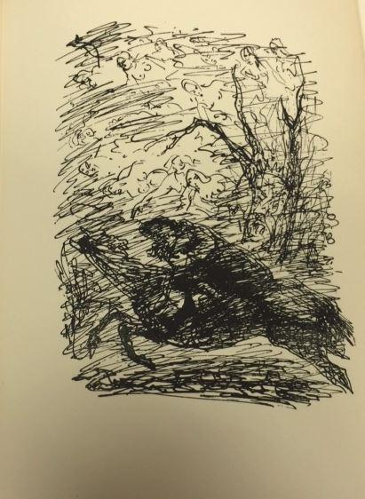Roeingh, Rolf (Hrsg.) und Josef (Illustrator) Hegenbarth. Goethes Balladen. 1