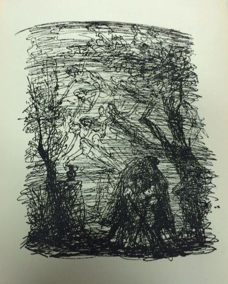 Roeingh, Rolf (Hrsg.) und Josef (Illustrator) Hegenbarth. Goethes Balladen. 4