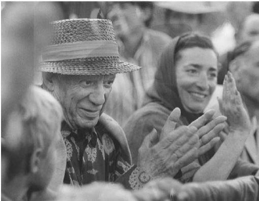 Spies, Werner und Hubertus (Fotografien) Hierl. Picasso beim Stierkampf.