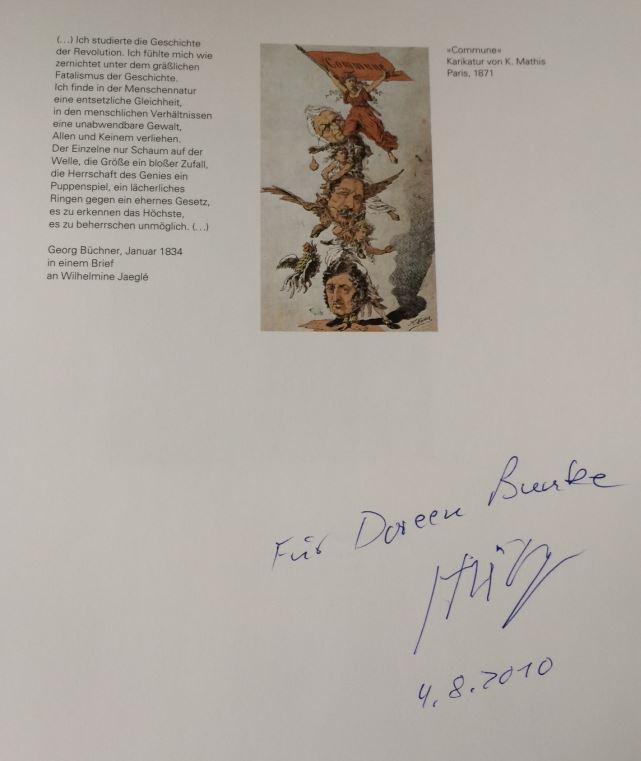 """Heisig, Bernhard und Dieter [Hrsg.] Brusberg. Bernhard Heisig """"Gestern und in unserer Zeit"""" - aus Anlaß der Ausstellung vom 6. September bis 15. November 2003."""