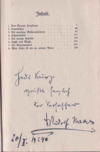 Haas, Rudolf. Verirrte Liebe.