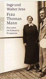 Jens, Inge und Walter Jens. Frau Thomas Mann.