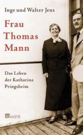 Jens, Inge und Walter Jens. Frau Thomas Mann. 1