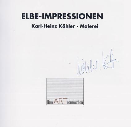 Köhler, Karl-Heinz. Elbe-Impressionen.